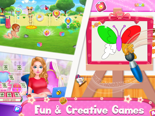 Pregnant Mommy & Baby Care: Babysitter Baby Games  screenshots 4