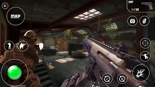 Fps Critical Action Strike Mod Apk (God Mode/Dumb Enemy) 1