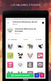 Stickers of Mexico for WhatsApp - WAStickerApps Screenshot