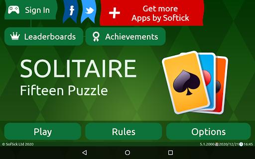 Fifteen Puzzle Solitaire  screenshots 16