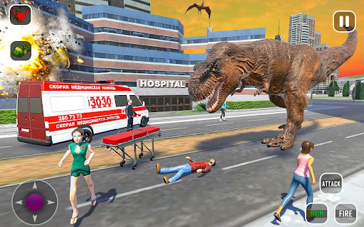 Extreme City Dinosaur Smash Battle Rescue Mission  screenshots 5