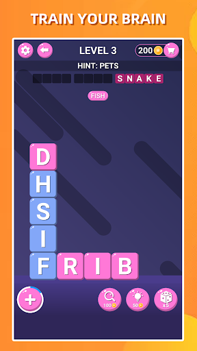 Block Words Search - Classic Puzzle Game 1.8 Screenshots 3