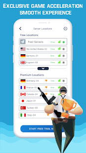 VPN Booster-Free Fast Private & Secure VPN Proxy 1.1.4 Screenshots 2