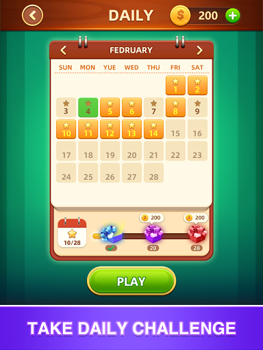 Word Fall - Brain training search word puzzle game 3.1.0 screenshots 8