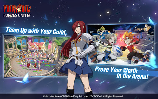 FAIRY TAIL: Forces Unite! android2mod screenshots 4