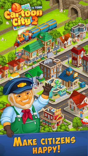 Cartoon City 2:Farm to Town.Build your home,house modavailable screenshots 7
