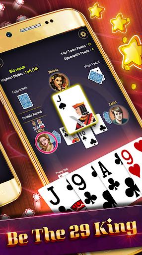 29 Card Game ( twenty nine ) Offline 2020 5.32 screenshots 6