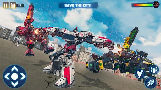 Tornado Robot Car Transform: Hurricane Robot Games 1.0.5 Screenshots 14