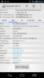 Network Info II For Pc – Free Download 2020 (Mac And Windows) 2