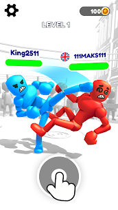 Stickman Ragdoll Fighter  Bash Apk Download 1