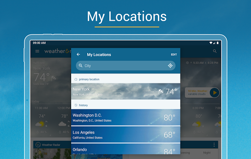Weather & Radar - Storm radar apktram screenshots 10