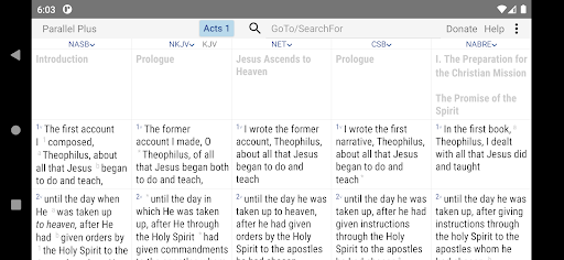 Parallel Plusu00ae offline Bible app with helps android2mod screenshots 2