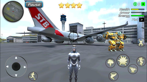 Hurricane Superhero : Wind Tornado Vegas Mafia  screenshots 8