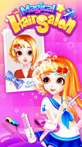 Magical Hair Salon: Girl Makeover 1.1.7 Screenshots 2