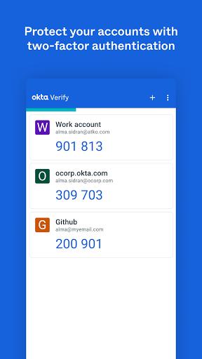 Okta Verify 6.1.1 Screenshots 2