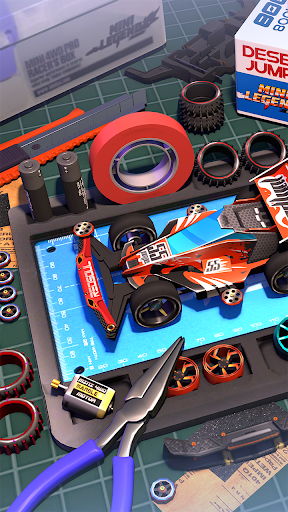 Mini Legend - Mini 4WD Simulation Racing Game 2.5.1 screenshots 1