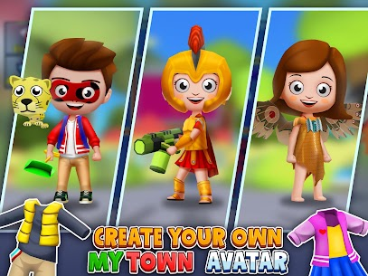My Town World: 3D Mini Games for Kids 8