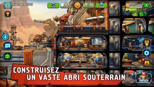 Code Triche Shelter War: La Ville Après l'Apocalypse APK Mod screenshots 1