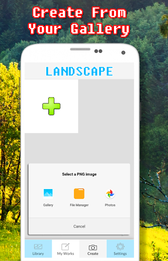 Landscape Coloring Book - Color By Number  screenshots 7
