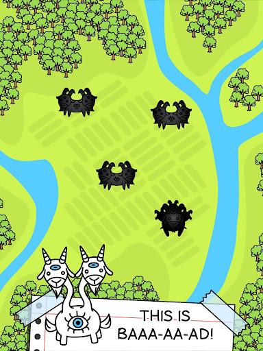 Goat Evolution - Mutant Goat Farm Clicker Game screenshots 11