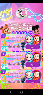 Dave and ava piano tiles