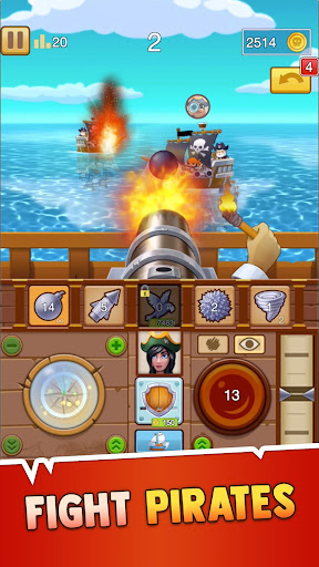 Pirate Bay - action pirate shooter. Aim and shoot apklade screenshots 1
