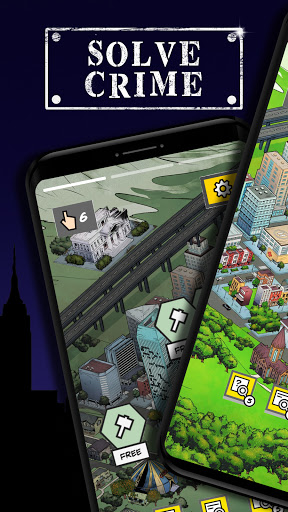Uncrime: Crime investigation & Detective game🔎🔦 2.0.2 screenshots 1