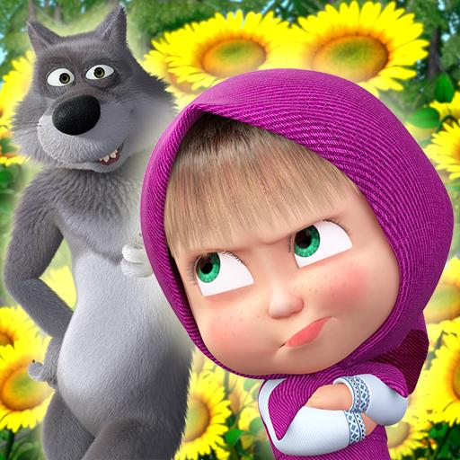 Masha and the Bear: Bermain Bola