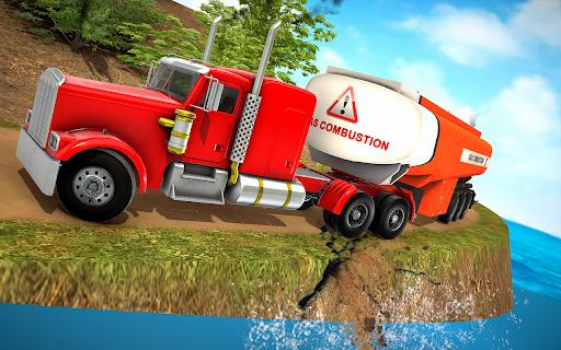 Oil Tanker Truck Driver 3D - Free Truck Games 2020  screenshots 8