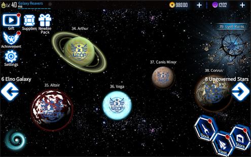 Galaxy Reavers - Starships RTS 1.2.22 Screenshots 8