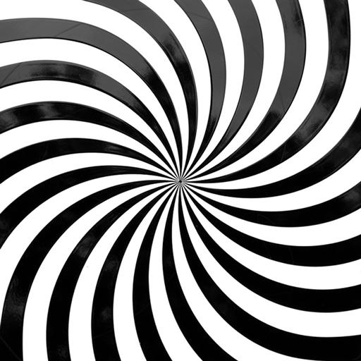 Optical illusion Hypnosis icon