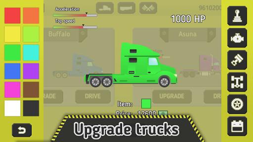 truck transport 2.0 - trucks race screenshot 2