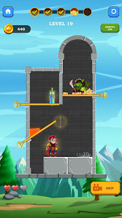 Hero Rescue 3D Puzzle - Pull The Pin Save Girl