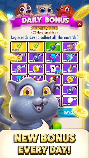 solitaire pets adventure - free solitaire fun game screenshot 3