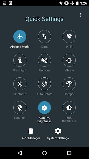 Quick Settings for Android- Toggle & Control Panel  Screenshots 4