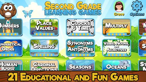 Second Grade Learning Games  screenshots 1