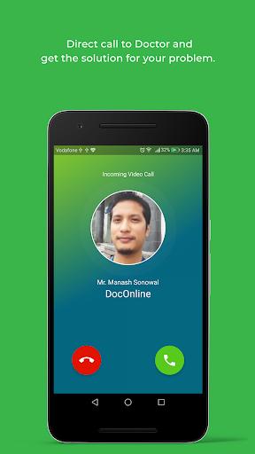DocOnline - Online Doctor Consultation App modavailable screenshots 4