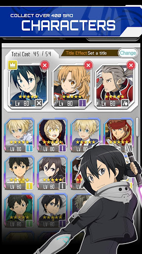 SWORD ART ONLINE Memory Defrag 2.1.4 screenshots 2