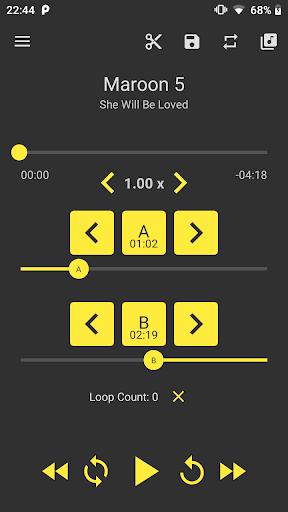 Download APK: Loop Player – A B Audio Repeat Player v2.0.5 (Pro)