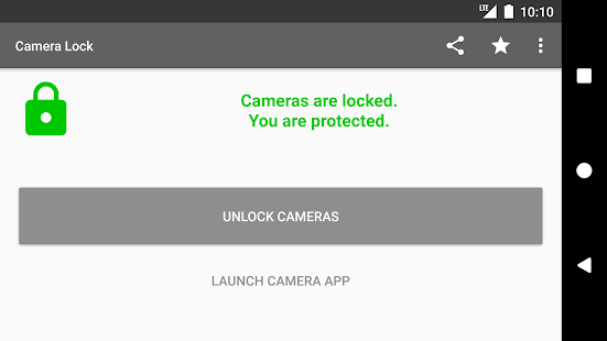 Camera Lock – Phone & Tablet Camera Security App