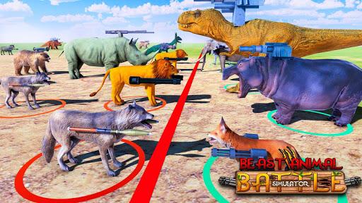 Beast Animals Kingdom Battle: Dinosaur Games 2.6 screenshots 11