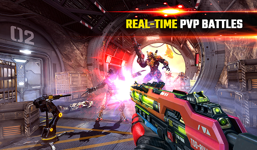 SHADOWGUN LEGENDS - FPS and PvP Multiplayer games apkpoly screenshots 18