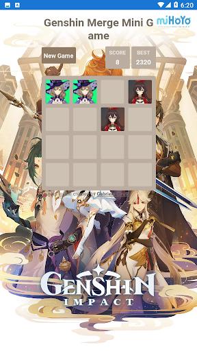 Code Triche Genshin Merge - Mini Game (Astuce) APK MOD screenshots 2
