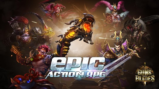 Dynasty Blades Mod Apk: Collect Heroes & Defeat Bosses (1 Hit Kill) 1