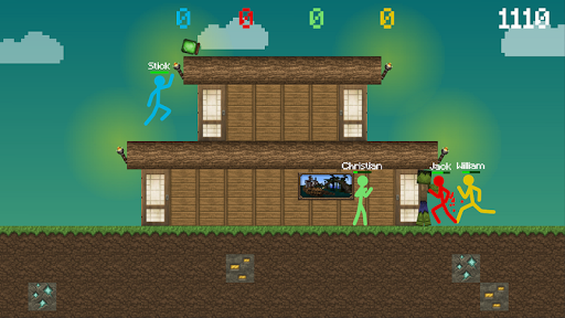 Stickman vs Multicraft: Survival Craft Pocket apkdebit screenshots 3