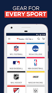 Free Fanatics  Shop NFL, NBA, NHL amp  College Sports Gear Apk Download 2021 3