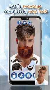 Men Hairstyles 2020 👨 Beard Style Camera 1.12 Mod APK Download 3