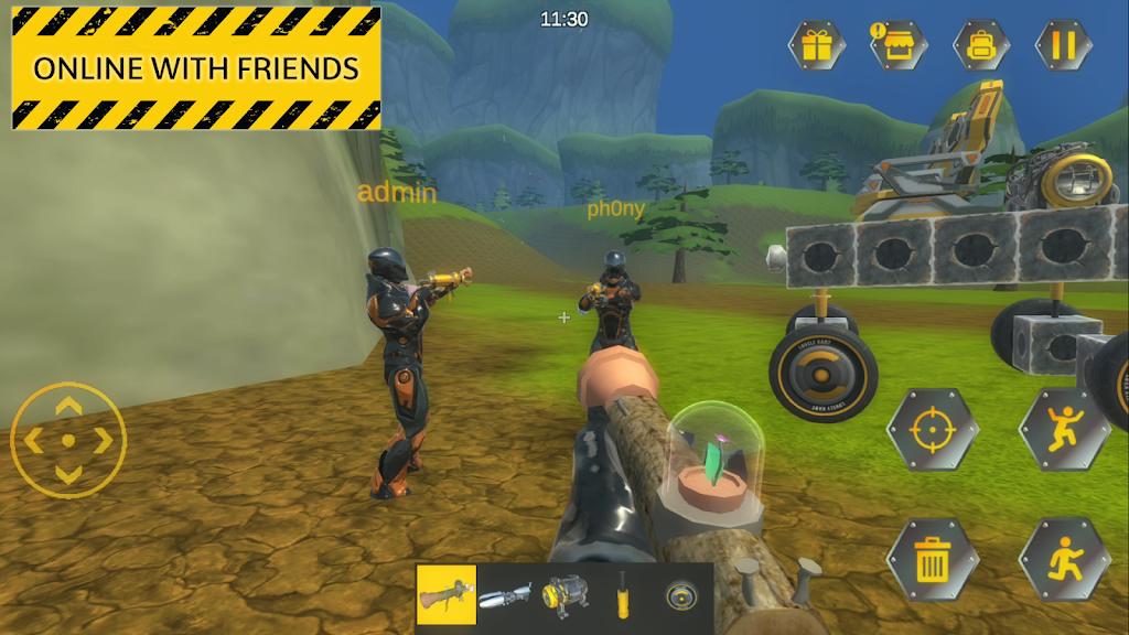 Evercraft Mechanic: Online Sandbox from Scrap poster 2
