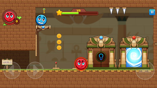 Red and Blue Ball  screenshots 5