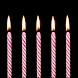 誕生日のキャンドル